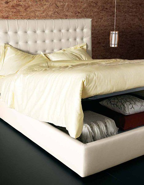 Bed With Storage Underneath Emily bed by Primafila Furniture Image