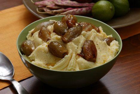 Mashed Yukon Gold Potatoes with Caramelized Shallots Recipe | Food ...