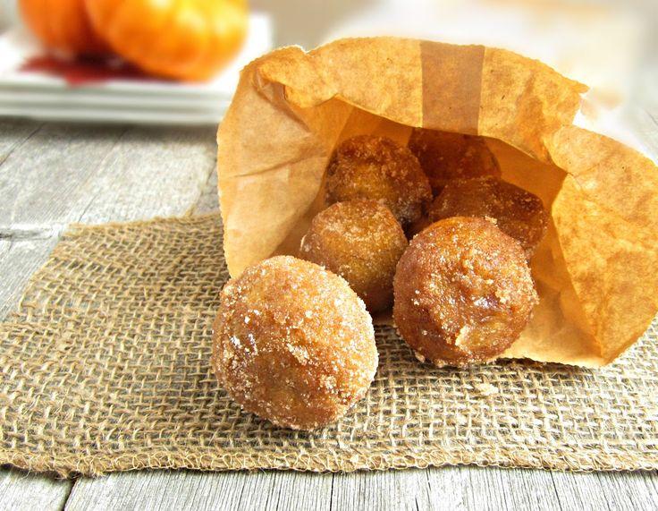 Hungry Couple: Baked Pumpkin Doughnut Holes