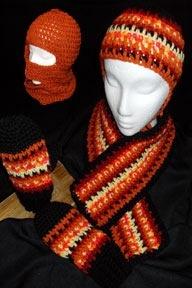 Free Crochet Halloween Mask Patterns :  FREE CROCHET SKI MASK