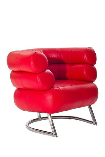Michelin Genuine Leather Chair - Red on HauteLook