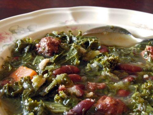 Portuguese Kale Soup | Favorite Recipes | Pinterest