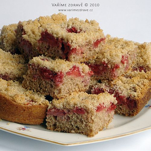 strawberry sourdough coffee crumb cake | Cakes | Pinterest