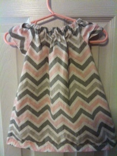 White Peasant Dress on Peasant Dress Pink Grey White Chevron By Apeasantsuprise On Etsy   30