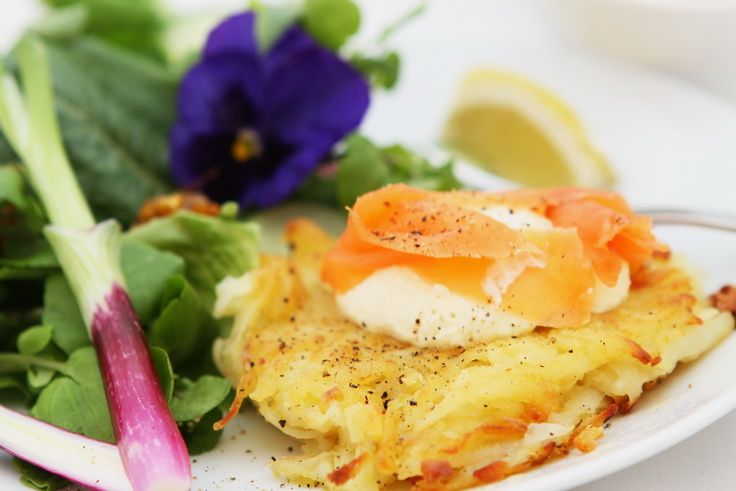 Salmon Rosti Recipe — Dishmaps