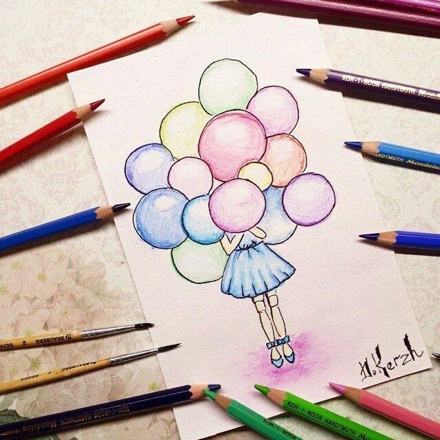 Красивые рисунки для артбука для срисовки