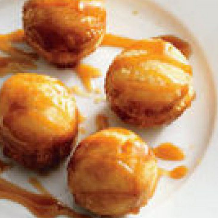 Chocolate-Caramel Doughnut Holes Recipe — Dishmaps