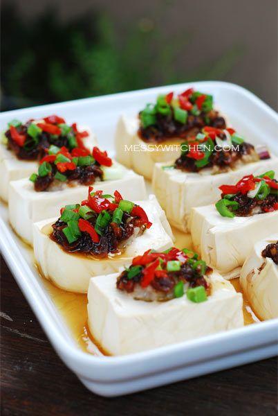 ... tofu with ground pork steamed egg tofu with ground pork and shrimp
