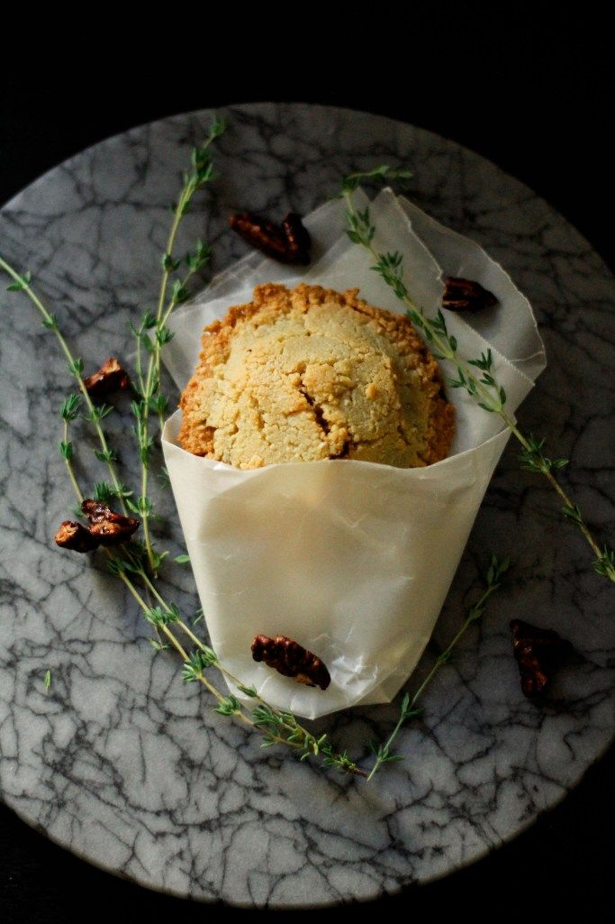 Honey-roasted pear and gorgonzola hand pies with peppered pecans ...