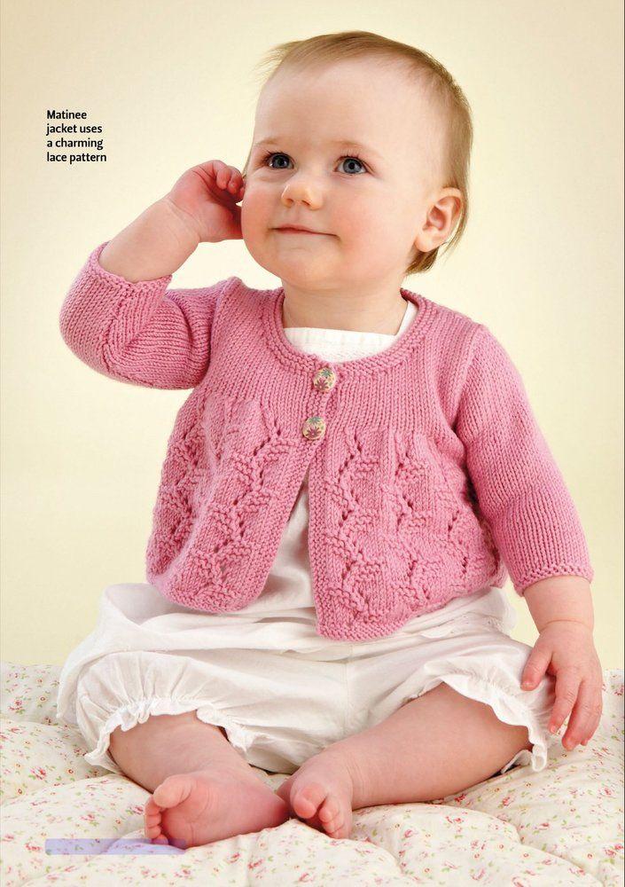 Вязание для маленьких девочек до года спицами