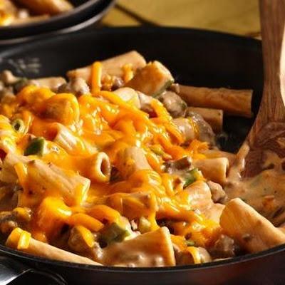 Cheesy Barbecue Casserole Recipe — Dishmaps