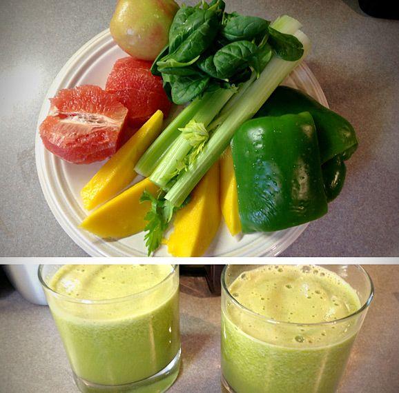 JUICER RECIPE: Tropical Green Juice | Juicer | Pinterest