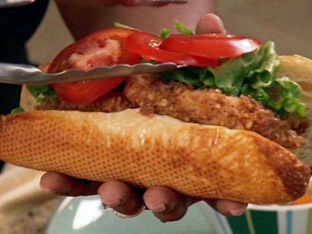 Pecan Crusted Catfish Finger Sandwich | Recipe