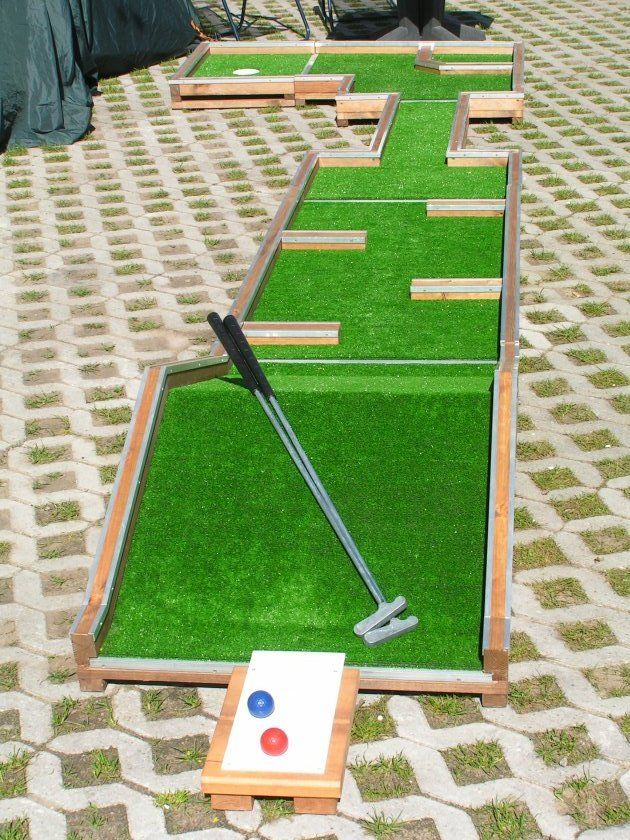 play mini golf mini golf ideas pinterest