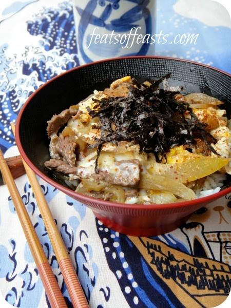 Gyudon (Beef Rice Bowl) | Favorite Recipes | Pinterest
