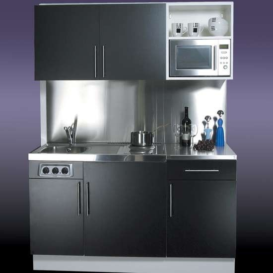 silver compact kitchen ideas  Clever Kitchens  Pinterest