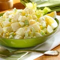 Country Potato Salad. This recipe reminds me of Southern style potato ...