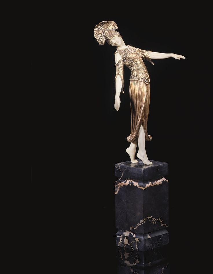 DEMETRE CHIPARUS - DANCER OF OLYNTHUS, CIRCA 1925