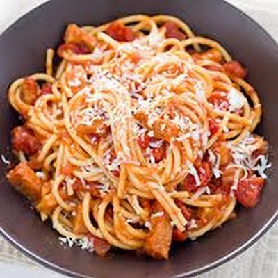 Pasta All'Amatriciana | pasta | Pinterest