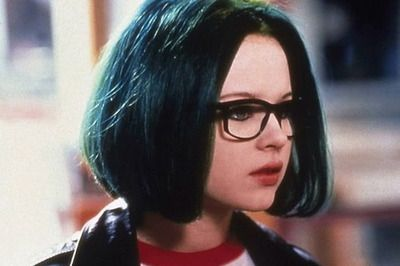 thora birch  hipsterThora Birch Ghost World Green Hair
