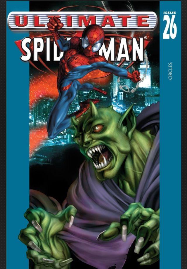Green goblin ultimate spider man