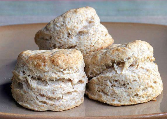 Whole Wheat Bicuits: Flaky & wholesome biscuits made with whole wheat ...