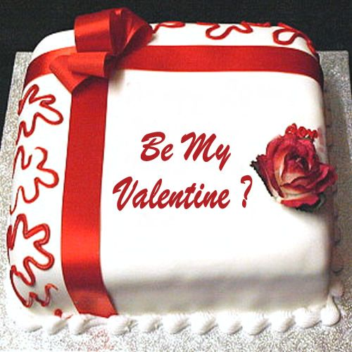cake for valentine's day