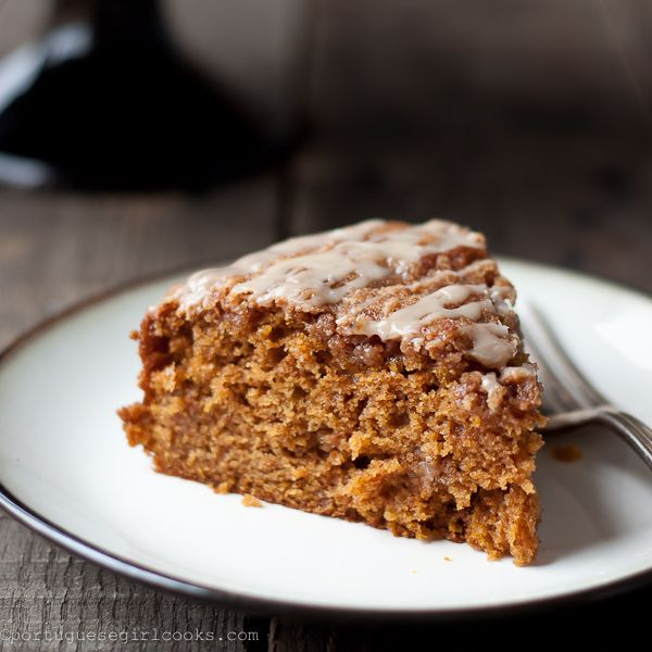 Pumpkin Coffee Cake with Brown-Sugar Streusel | Recipe