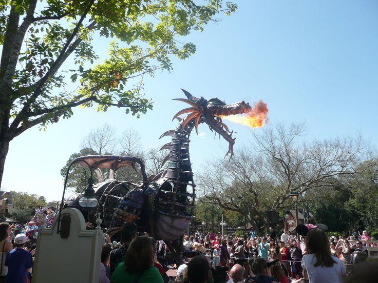 Maleficent Dragon - Disney's Festival of Fantasy Parade