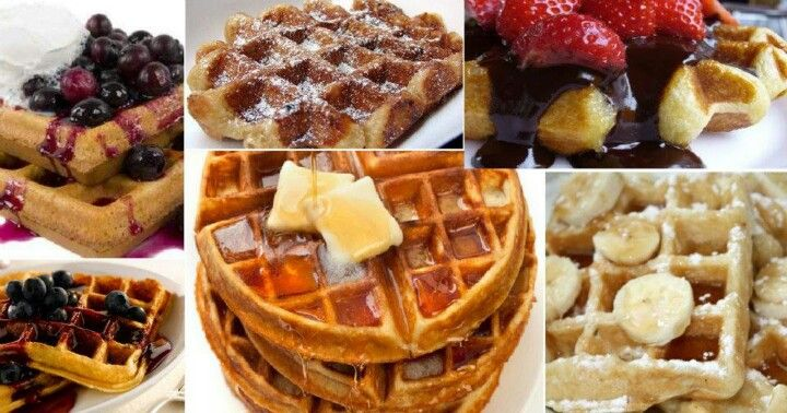 Easy waffles | Breads and rolls | Pinterest