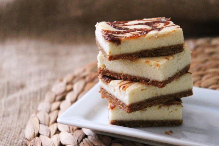 Pumpkin Swirl Cheesecake Squares | Sweets! | Pinterest