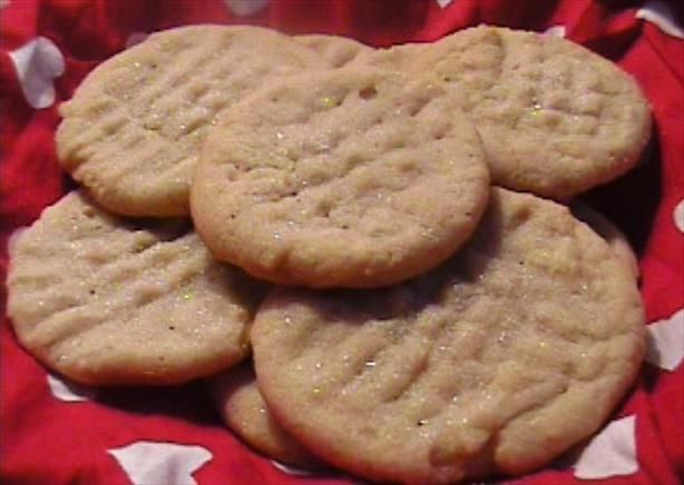 Angel Cookies. Basically a mix between a sugar and shortbread cookie!