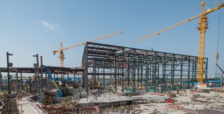 Pirates of the Caribbean, under construction at Shanghai Disneyland in Match 2014. Photo courtesy Disney.