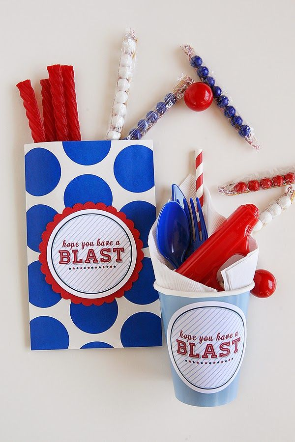 Have a Blast This 4th of July - free printable tag