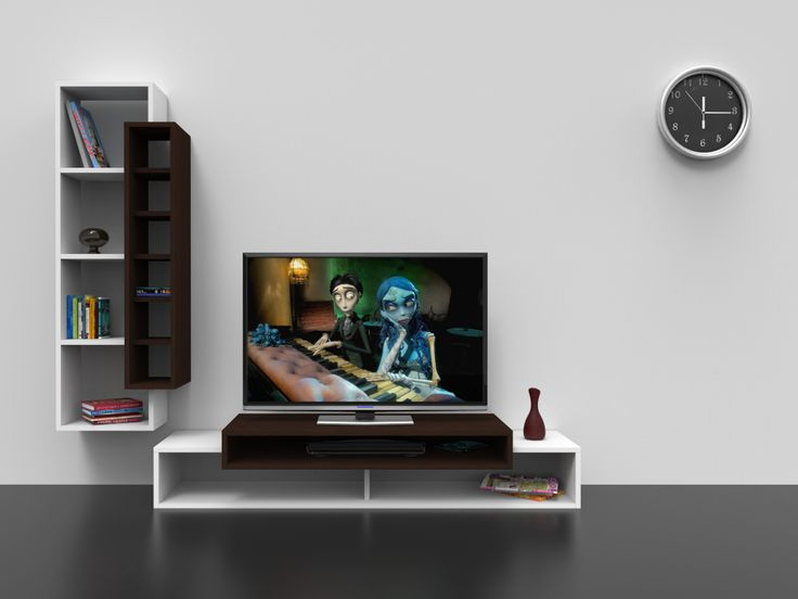First TV Ünitesi Beyaz Wenge 229,00 TL | Tv Ünitesi | Pinterest