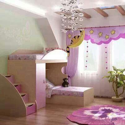 Girls Room Creative Bunk Beds Kids Room Pinterest
