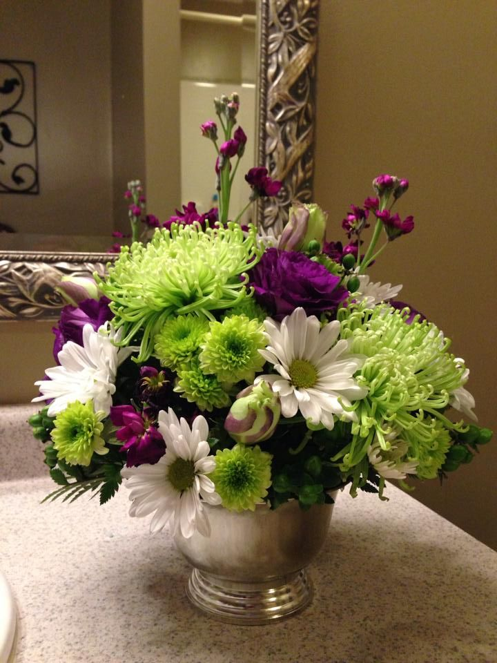 Flowers for Kims party. pretty!! | 50th Birthday Party | Pinterest