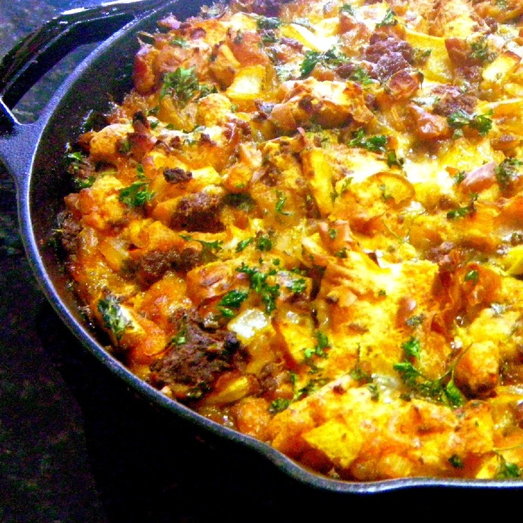 Chorizo Sausage and Apple Dressing (Never Stuffing) - Plan for you ...