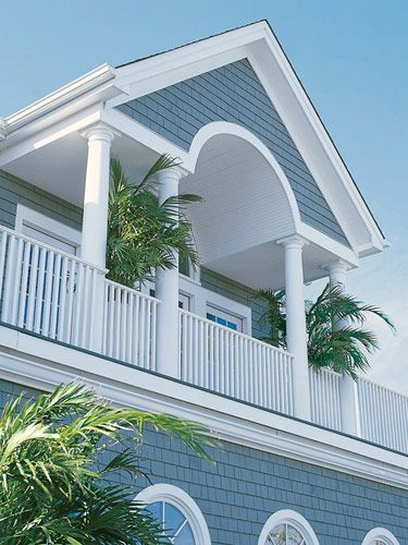 Pin by hamptons style on the hamptons pinterest for Beach house exterior paint colors