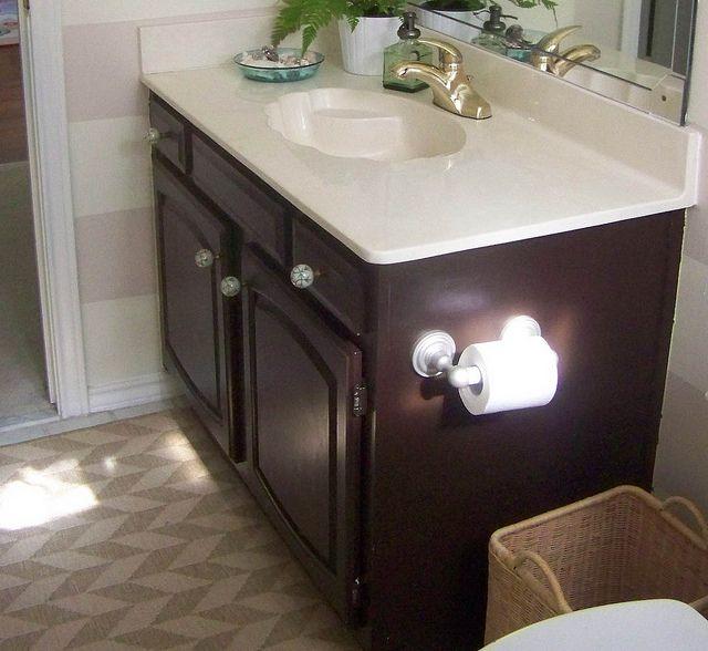 Innovative Heres The Guest Bathroom Vanity