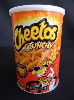 Cheetos Crunchy Can | Childhood | Pinterest