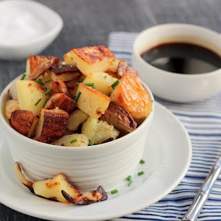 Salt and Vinegar Roasted Potatoes | Food=Sides | Pinterest