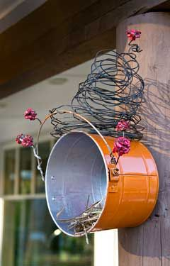 Perfect for nesting robins and wrens!