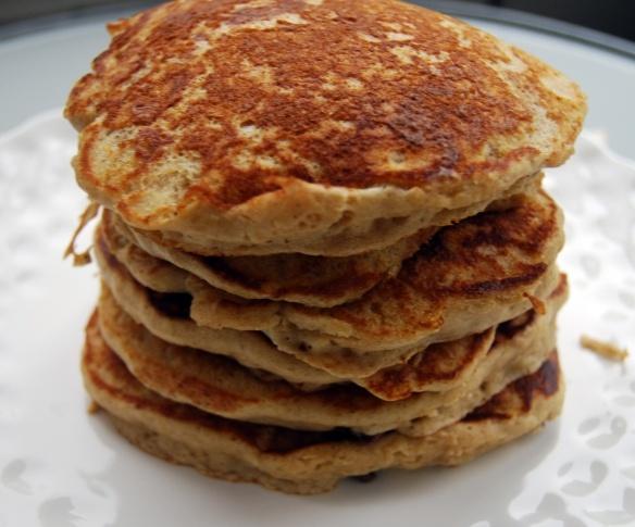 Hefewiezen pancakes, maybe my Eddie will eat these pancakes?