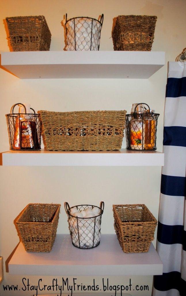 14 DIY Bathroom Storage Ideas DIY Crafts Pinterest