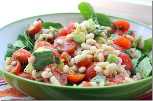 White Bean salad | Sides and such | Pinterest