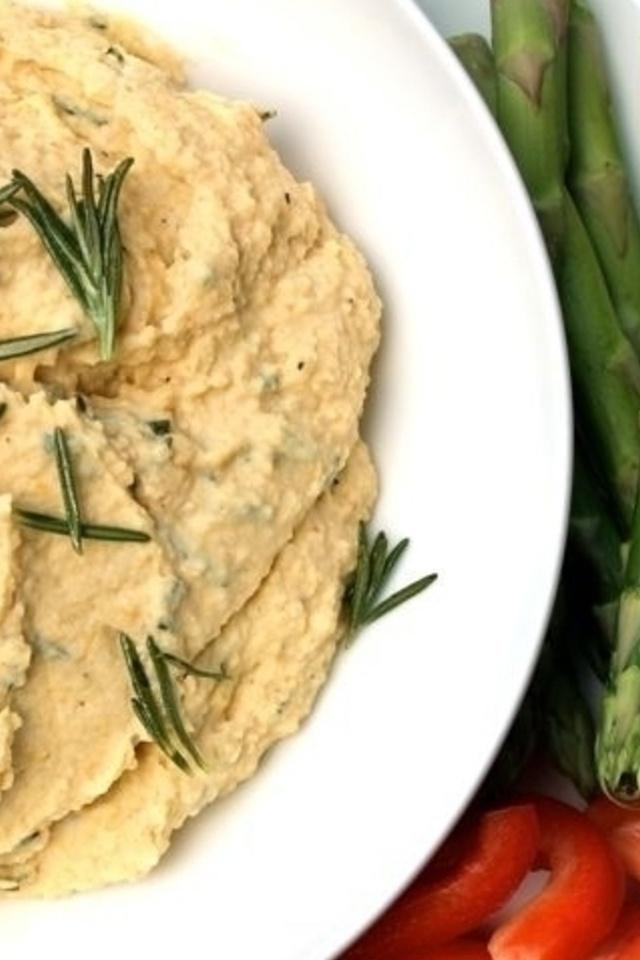 Crispy Rosemary Hummus | Yummy Ideas | Pinterest