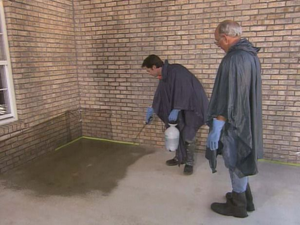 Staining Old Concrete Steps How to Stain Old Concrete