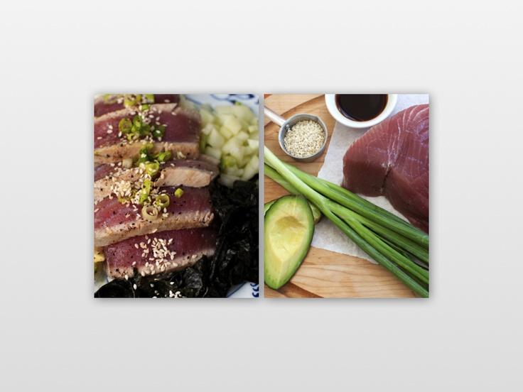 Seared Tuna Sushi Bowls | Food Junkie | Pinterest