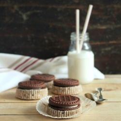 Cookies&Cream Cheesecakes | Cooking With Style | Pinterest